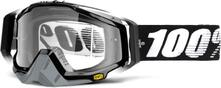100 Percent Racecraft Goggles Abyss Black/Clear Lens | Cykelbrille