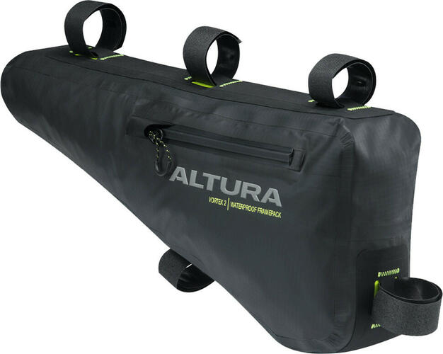 Altura Vortex 2 Waterproof Frame Pack Black | Frame bags
