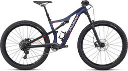Specialized Camber Comp Carbon 27.5 Womens Mountain Bike 2017 Blue/Red | mountainbike