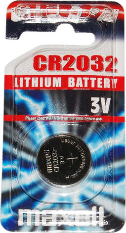 Maxell - Batteri - CR2025 Lithium 3v - 1 stk | computer batteries and chargers
