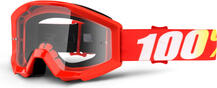 100 Percent Strata Goggles Furnace/Red Mirrored Lens | Cycling glasses