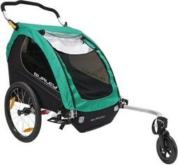 Burley Encore X Turquoise Child Trailer | bike_trailers_component