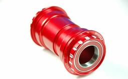 Wheels Manufacturing Pressfit 30 To Outboard Bottom Bracket Ac Bearings - Sram Compatible - Red | bottom bracket