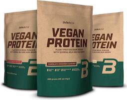 BioTechUSA Vegan Protein 500g | Protein bar and powder