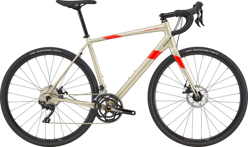Cannondale Synapse Aluminium 105 Disc Road Bike 2020 Champagne/Red | Racercykel
