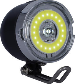 OXC Bright Street - Cykellygte front - LED - Batteri model | Bike lights
