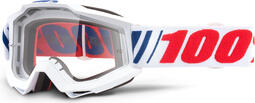 100 Percent Accuri Youth Goggles AF066/Clear Lens | cycling glasses