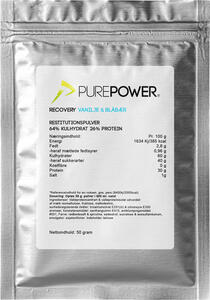PurePower - Recovery | proteinbar og -pulver