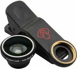 Death Lens Clip on Wide Angle Lens Black | glasses_other_clothes