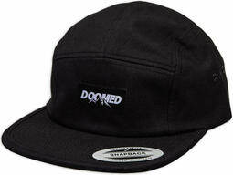 Doomed Mountain 5 Panel Snapback Black | Headwear