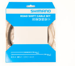 Shimano Mtb Gear Cable Set With Stainless Steel Inner Wire Black | gear cable