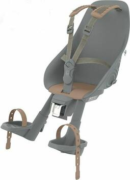 Urban IKI Front barnestol - Black/Brown. | Bike seat