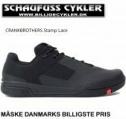 CRANKBROTHERS STAMP LACE FLATS MTB SKO - 44,5 - BLACK-RED | cycling shoes